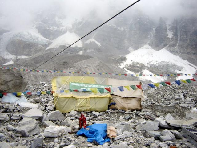 Acampamento-base do Everest