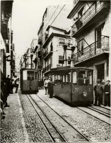 Ascensor da Bica 1926