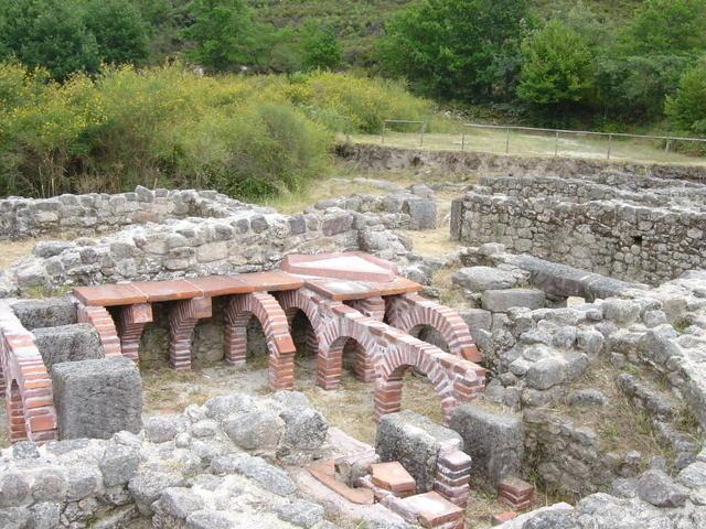 Termas romanas rio Caldo